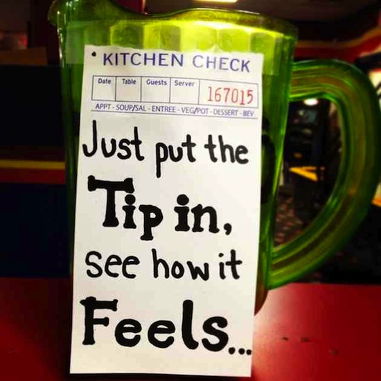 Humor Inspirational Quotes For Jar: Each Of These Funny Tip Jars Deserve All Your Money