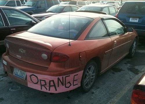the-best-funny-pics-of-lazy-people-orange paint car