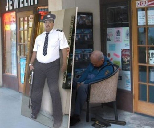 the-best-funny-pics-of-lazy-people-security guard