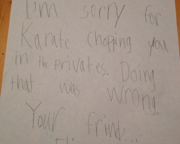 best funny pictures, funny photos, funny pics, funny apology notes, apology notes