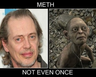 the best funny pictures of meth not even once meme gollum steve buscmei 370x297 the best of the 'that's none of my business' kermit meme,Really Funny Memes