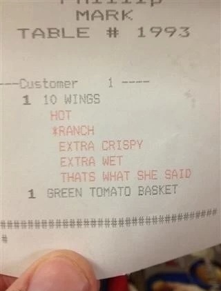 funny photos, funny pics, funny pictures, funny receipts, funny vids