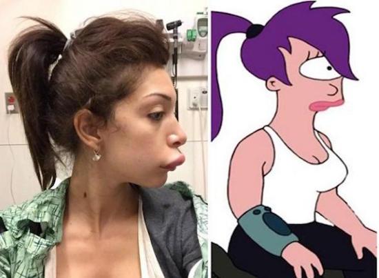 funny photos, funny pictures, funny pics, funny vids, people who look like cartoon characters, real people who look like cartoon characters