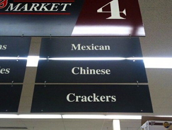 Make It Happen >> Funny Grocery Store Signs Make Shopping More Entertaining