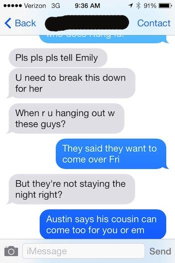 Creepy Texts To Send To Random Numbers