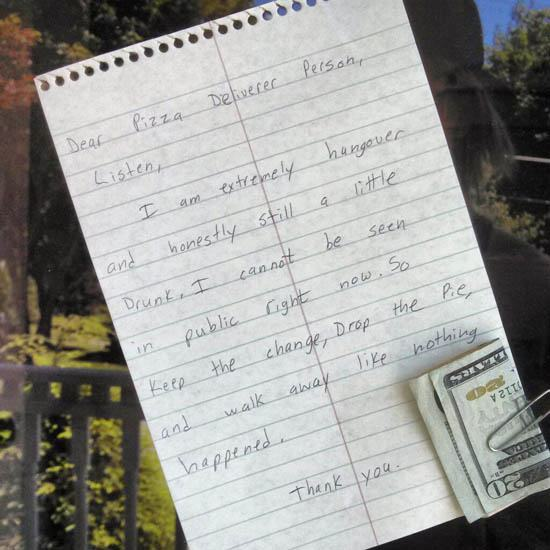 funny notes, funny pics, funny photos, funny pictures, funny vids, notes from strangers, funny notes from strangers