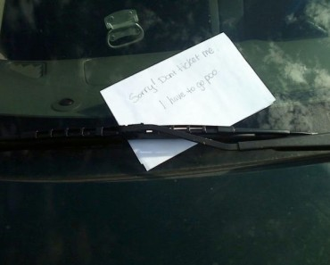 funny notes, funny pics, funny photos, funny pictures, funny vids, notes from strangers