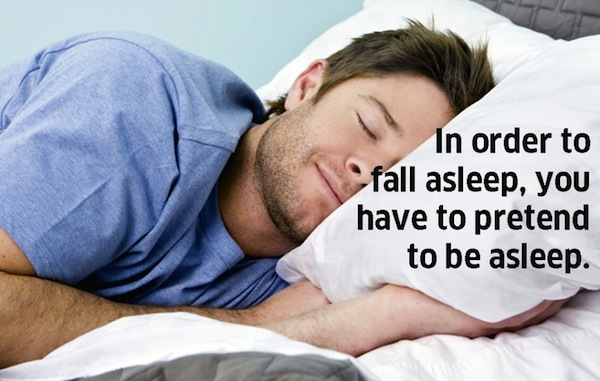 how to make someone with a fever fall asleep