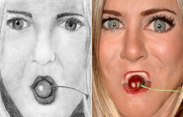 10 Hilariously Awful Attempts at Celebrity Fan Art : funny