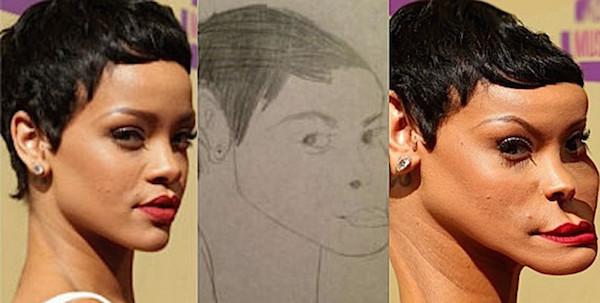 Bad Fan Art Photoshopped onto Actual Celebrity Faces ...