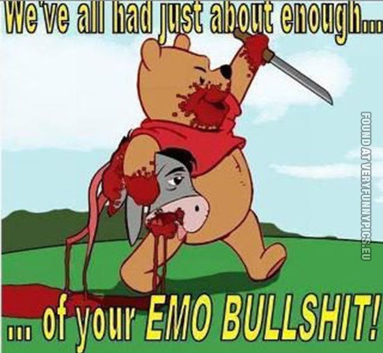 When Winnie The Pooh Characters Go Horribly Wrong