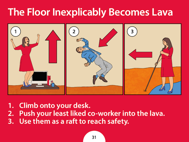 company creates hilarious fake safety guidelines to make