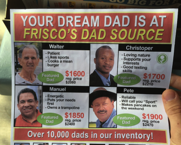 fake father's day sale flyer, fake flyer, funny flyer, funny flyers, father's day, father's day funny, fathers day, fathers day funny, obvious plant, obvious plant father's day, obvious plant fathers day