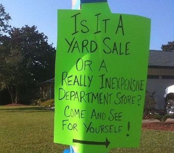 Funny Yard Signs For All Of Your Attention Grabbing Needs
