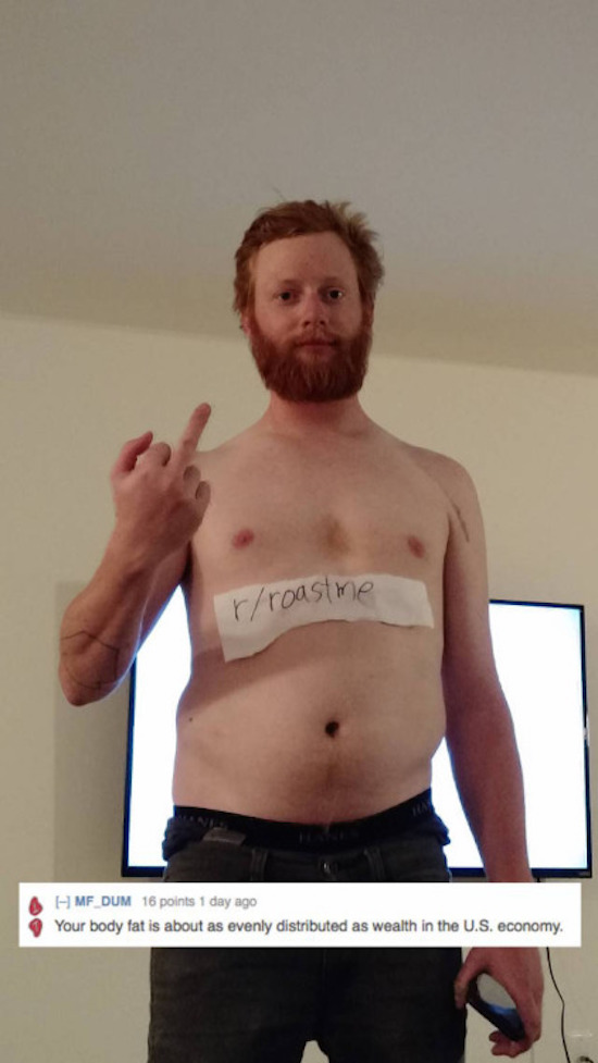 The Best (Or Worst) Of Reddit's Roast Me