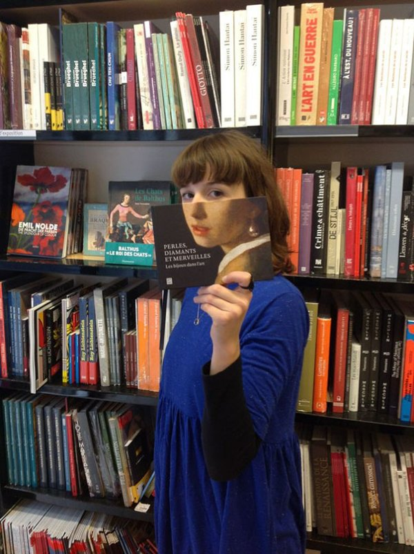 Book Covers With Faces : And you thought books were just for reading
