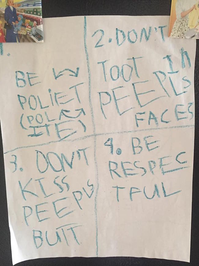 best house rules, funny house rules, house rules, funniest house rules, little girl house rules, five year old house rules, 5 year old house rules, niece house rules