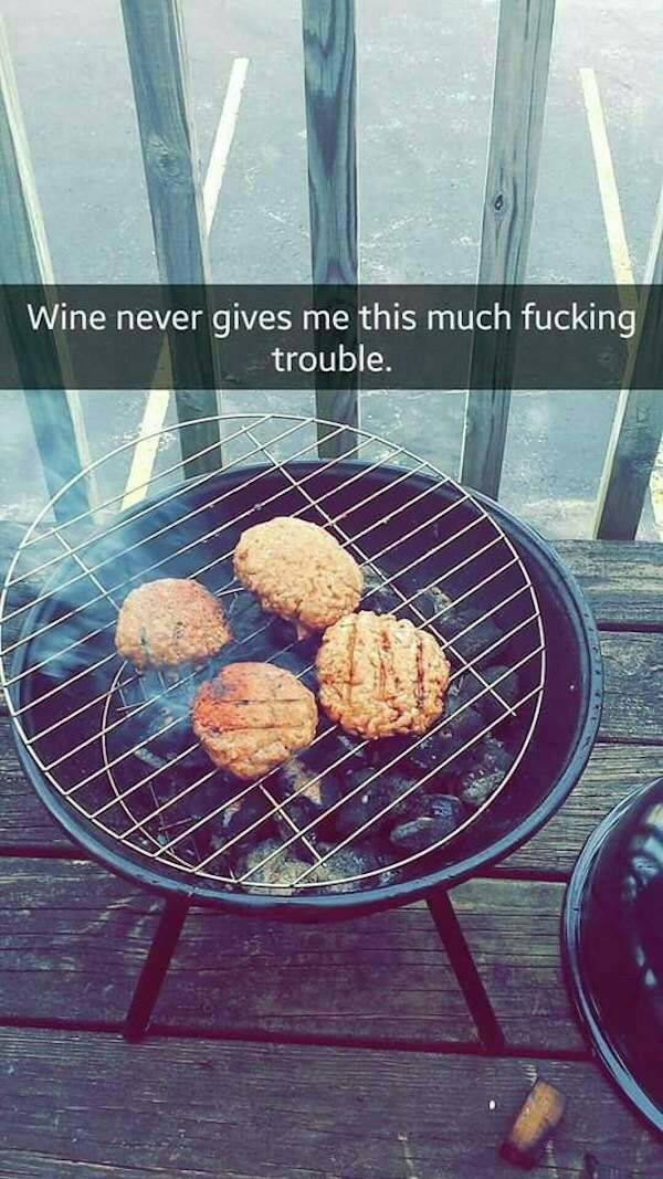 A barbecue gone wrong 1