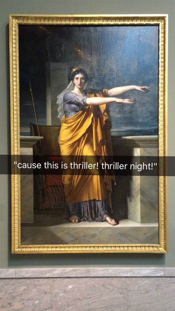 snapchat, funny snapchat, funny snapchats, museum art snapchat, funny snaps, funny snap, best snapchats, best snapchat ever, funny snapchats to send, funny snapchats ideas, funny snapchats tumblr, how to make funny snapchats, really funny snapchats, funny snapchats to send to friends, funny snapchats to do, museum art snapchats