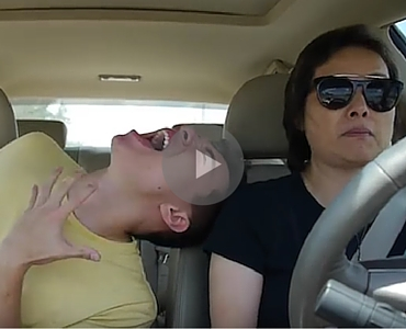 This Guy Performs A Ridiculous Lip Sync Medley And His Mom Could Care Less