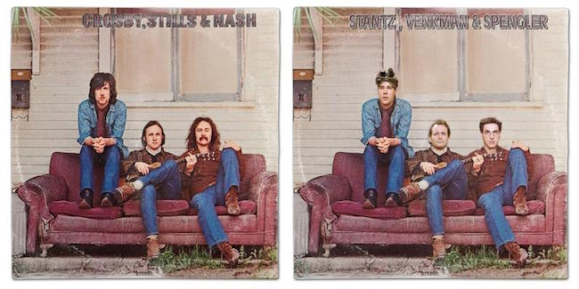 Crosby, Stills & Nash - Southern Cross / Into The Darkness