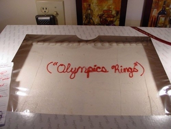 Cake Decorating Ideas For Olympics