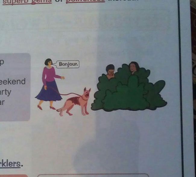 Take A Moment To Appreciate These Incredibly Weird Things Found In - 20 times students vandalised textbooks in the funniest way