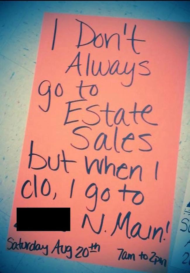 garage sale signs garage sale sign best garage sale signs ever best garage