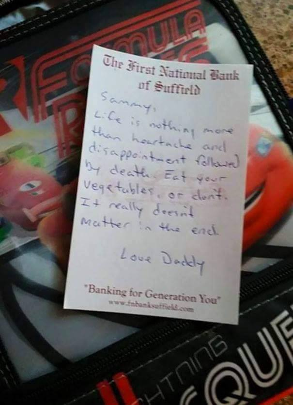 Funny Notes From Parents Will Make You Feel Right At Home