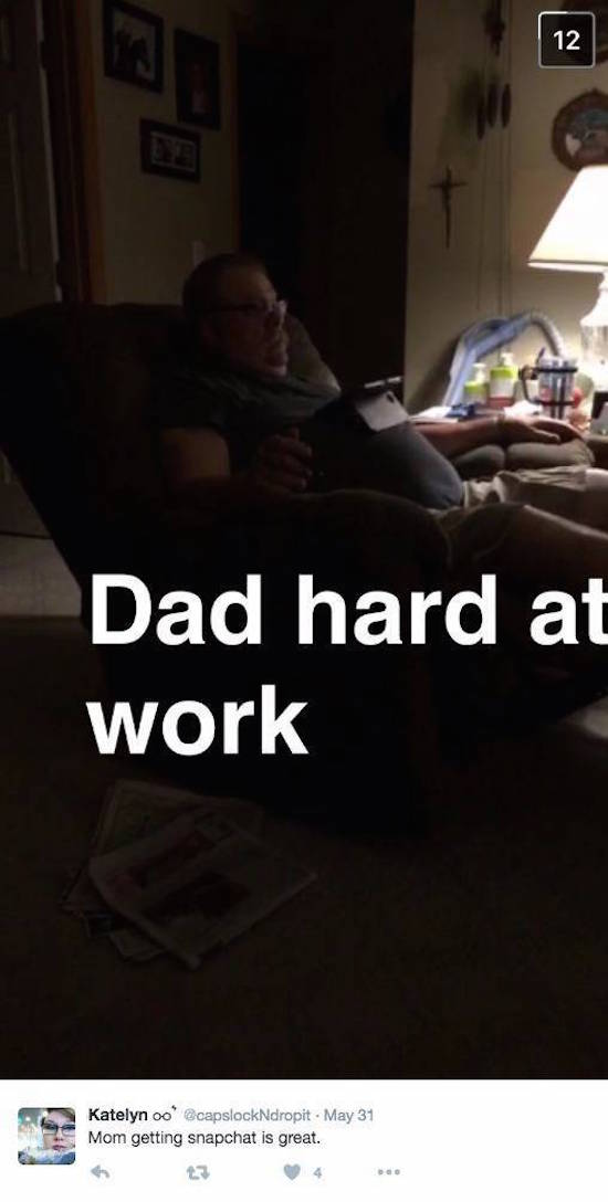 Snapchat Has Been Invaded By Moms And It's Basically The Best Thing Ever