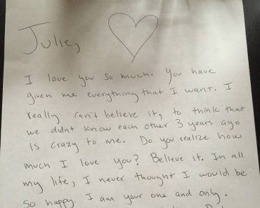 Love letter message