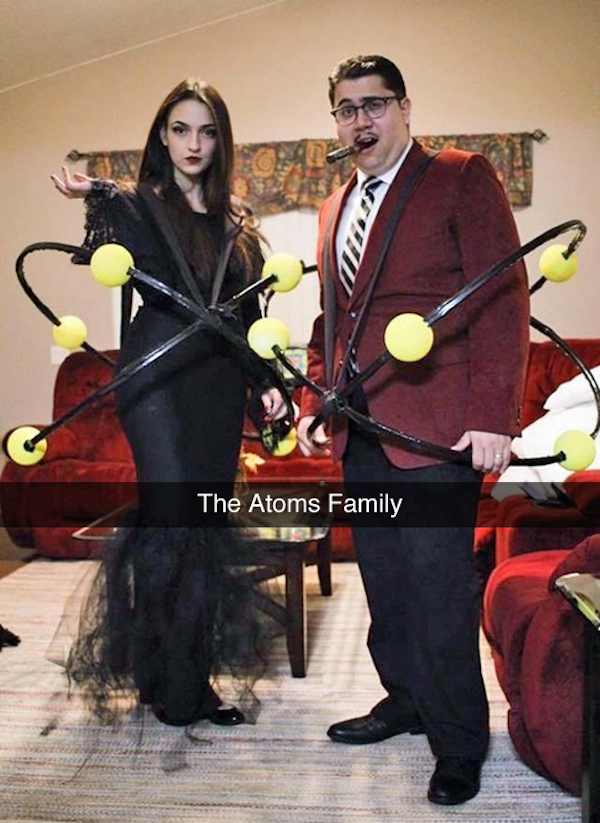 Get Ready To Roll Your Eyes At Some Pun Halloween Costumes