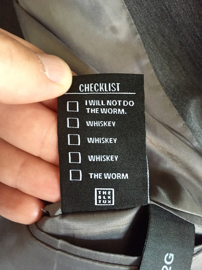tuxedo checklist, wedding tuxedo checklist, wedding checklist, funny tuxedo, tuxedo funny, tuxedo tag checklist, checklist wedding, funny wedding, wedding funny, funny clothing tags, clothing tags funny, funny clothes, clothes funny, best wedding, wedding joke, joke weddings, tuxedo fail, tuxedo fails