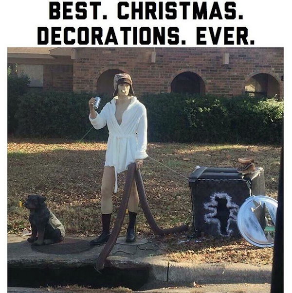 Best Funny Meme Ever : And here are the absolute funniest christmas decorations ever