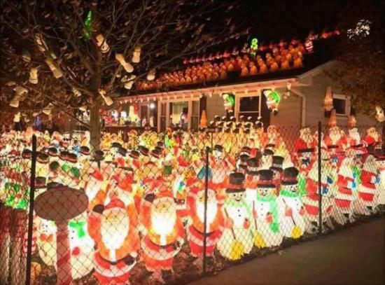 Outside Christmas Lights Decorating Ideas