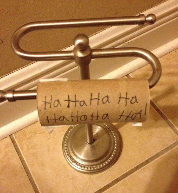 Prank Toilet Paper