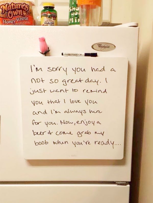 Funny Love Notes Are The Best Love Notes
