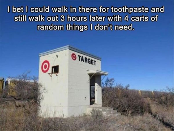 funny photos for facebook of tiny target