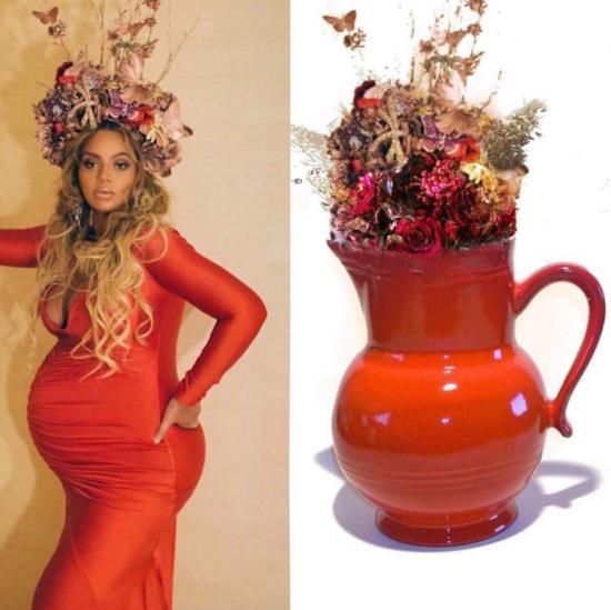 funny picture of beyonce who wore it better vase