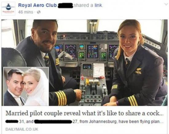 photo of copilots share cock headline