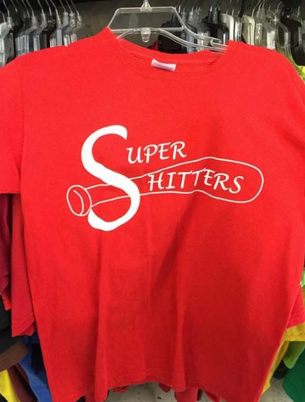 funniest picture of super hitters shirt looks like super shitters