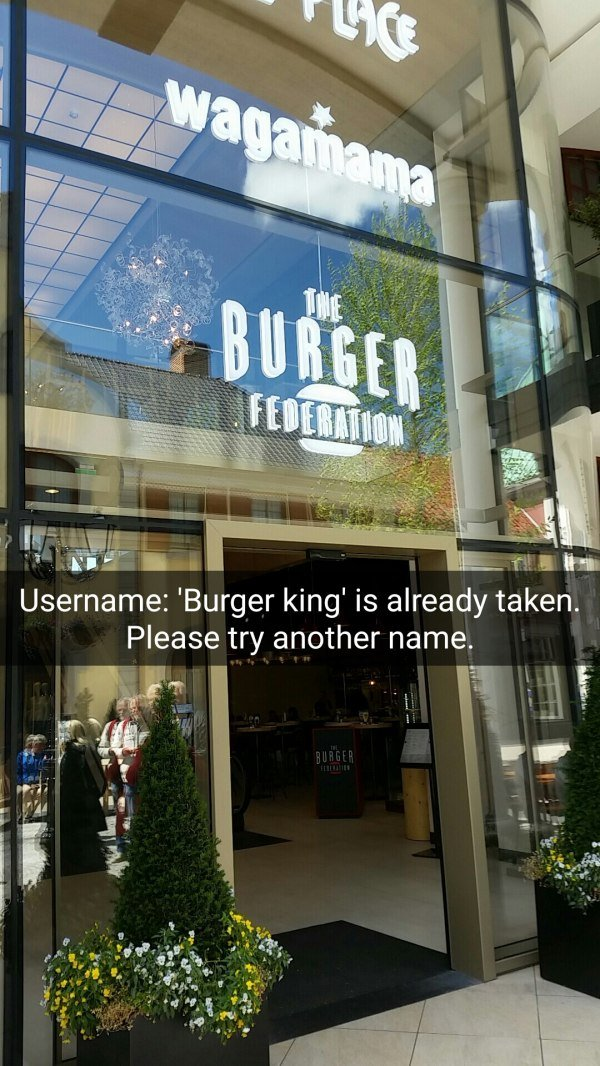 funny image of the burger federation