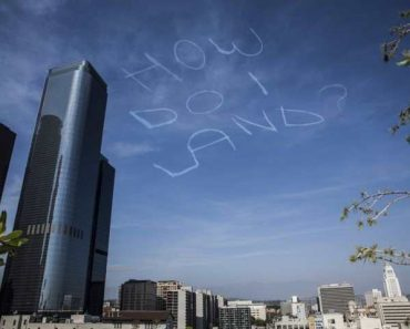 funny photo of how do i land sky writing