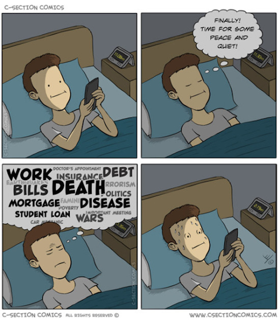 funny pic of comic by c-section comics about bedtime