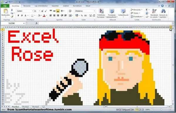 silly pictures of excel rose un axel rose