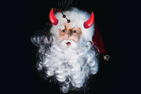 who is santa, santa satan, satan santa, krampus, who is krampus, what is krampus, santa claus pictures, is santa claus real, santa claus facts, santa claus alcoholic, alcoholic santa claus, bad santa, santa bad, history of santa claus, santa claus photo, santa claus hat,