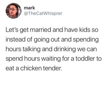 marriage jokes, married life, toddler chicken tender, funniest tweets, funny tweets, best tweets, top tweets, tweets, tweet, top tweet, best tweet, funny tweet, funniest tweet, hilarious tweets, very funny tweets