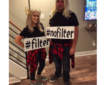 filter no filter couples costume