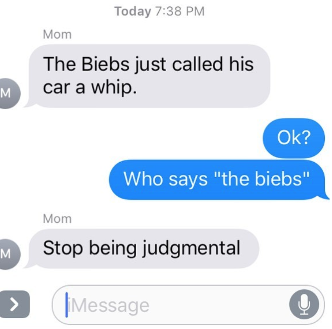 Texts From Moms Who Think They're 'That Bitch' After A Glass