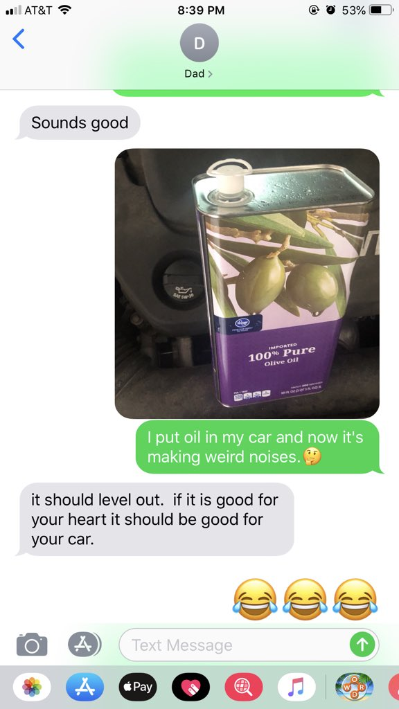 Dads Are Falling For The 'Olive Oil In Your Car' Prank